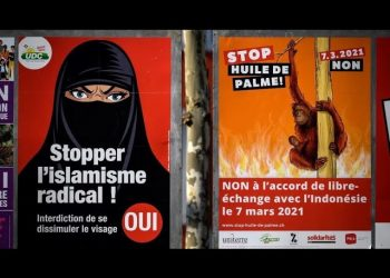 Switzerland to ban burqa and niqab for muslims in public places