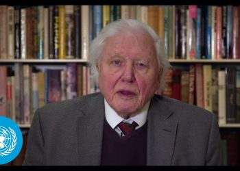 Sir David Attenborough on Climate and Security