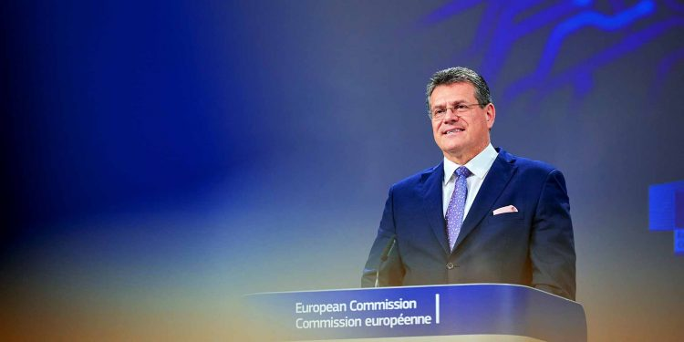 Maroš Šefčovič, Vice-President of the European Commission in charge of Interinstitutional relations and Foresight