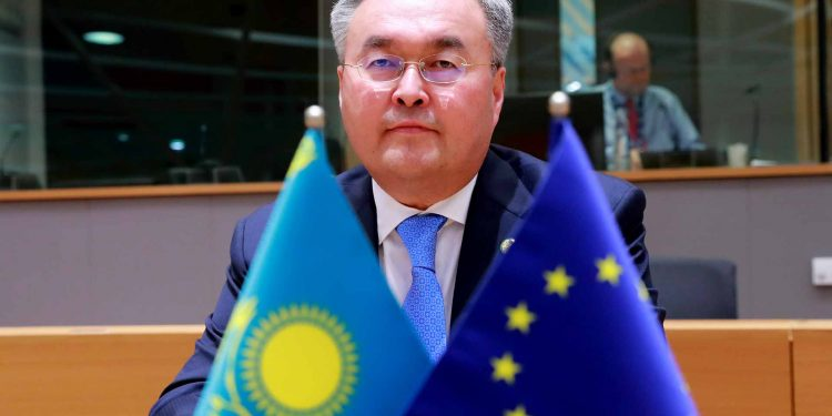 Mukhtar Tleuberdi - Minister for Foreign Affairs of Kazakhstan