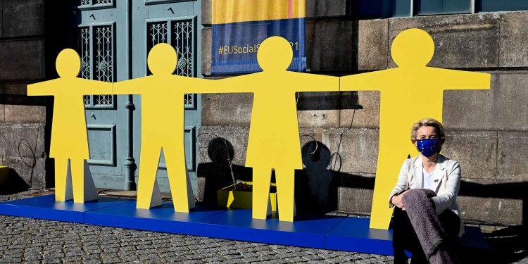 Ursula von der Leyen in Porto Social Summit
