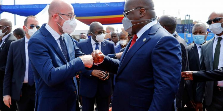 President Michel visits Democratic Republic of the Congo