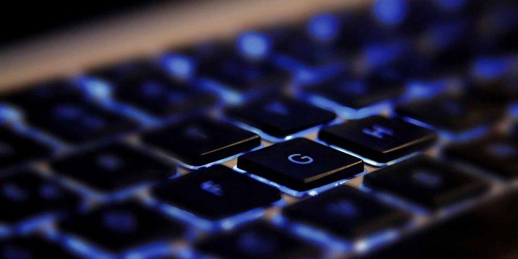 technology cybersecurity keyboard PC